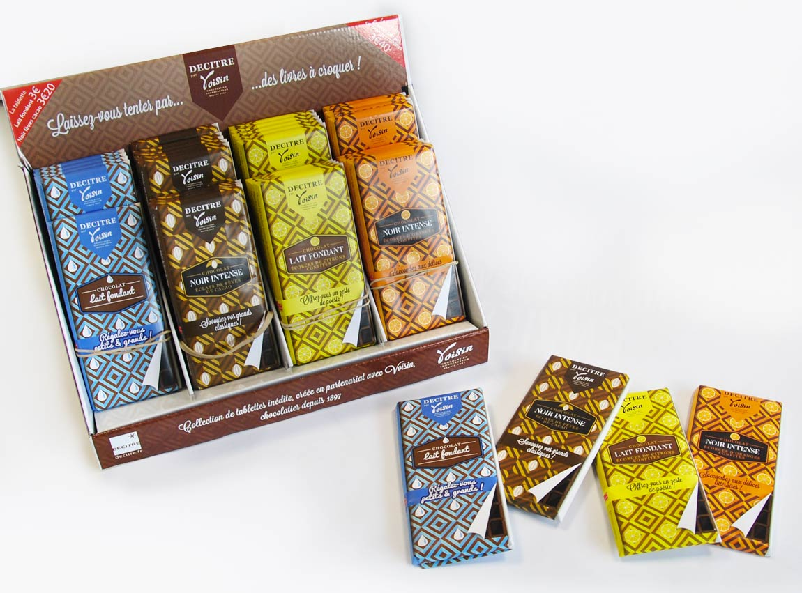 Packaging Tablettes De Chocolat Edwd