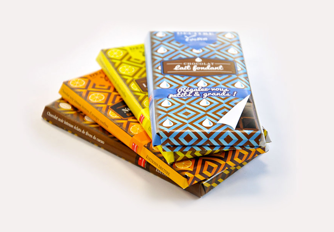 Packaging Tablettes de chocolat